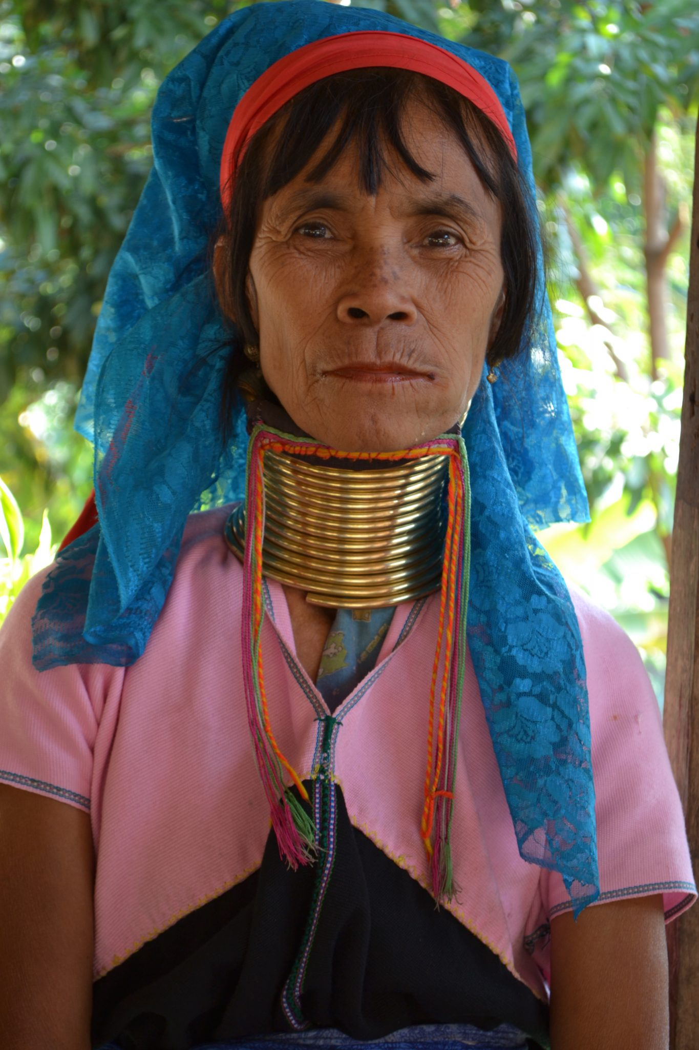 This beautiful Kayan woman could not speak a word of English, but because she had her shop across the place where we stayed, we say how caring she was. She was always taking care of her grand children and on the day of our departure she gave us a Kayan bracelet: sometimes gestures say more than a thousand words.   Photo by: Joney Habraken